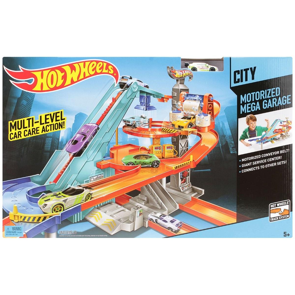 Hot Wheels Motorized Mega Garage