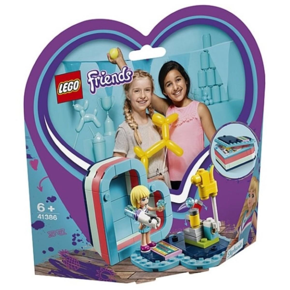 LEGO Friends Stephanies Summer Heart Box   Toys   Casey's Toys