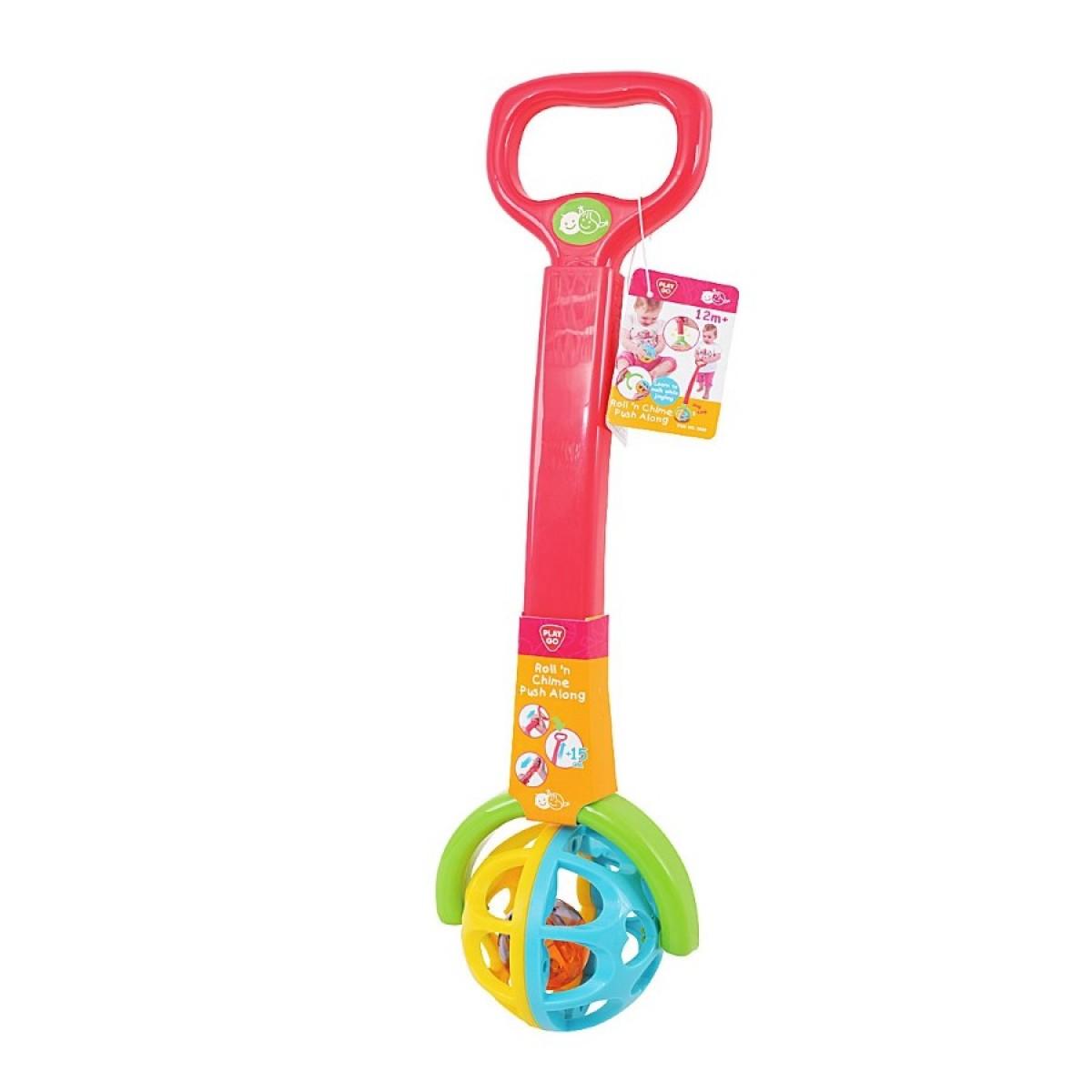 Incredible Playgo Roll Chime Push Along Toys Caseys Toys Creativecarmelina Interior Chair Design Creativecarmelinacom