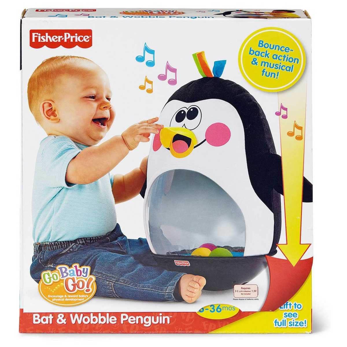Amazon.com: Fisher-Price Go Baby Go! Bat and Wobble ...  Fisher Price Bat Wobble