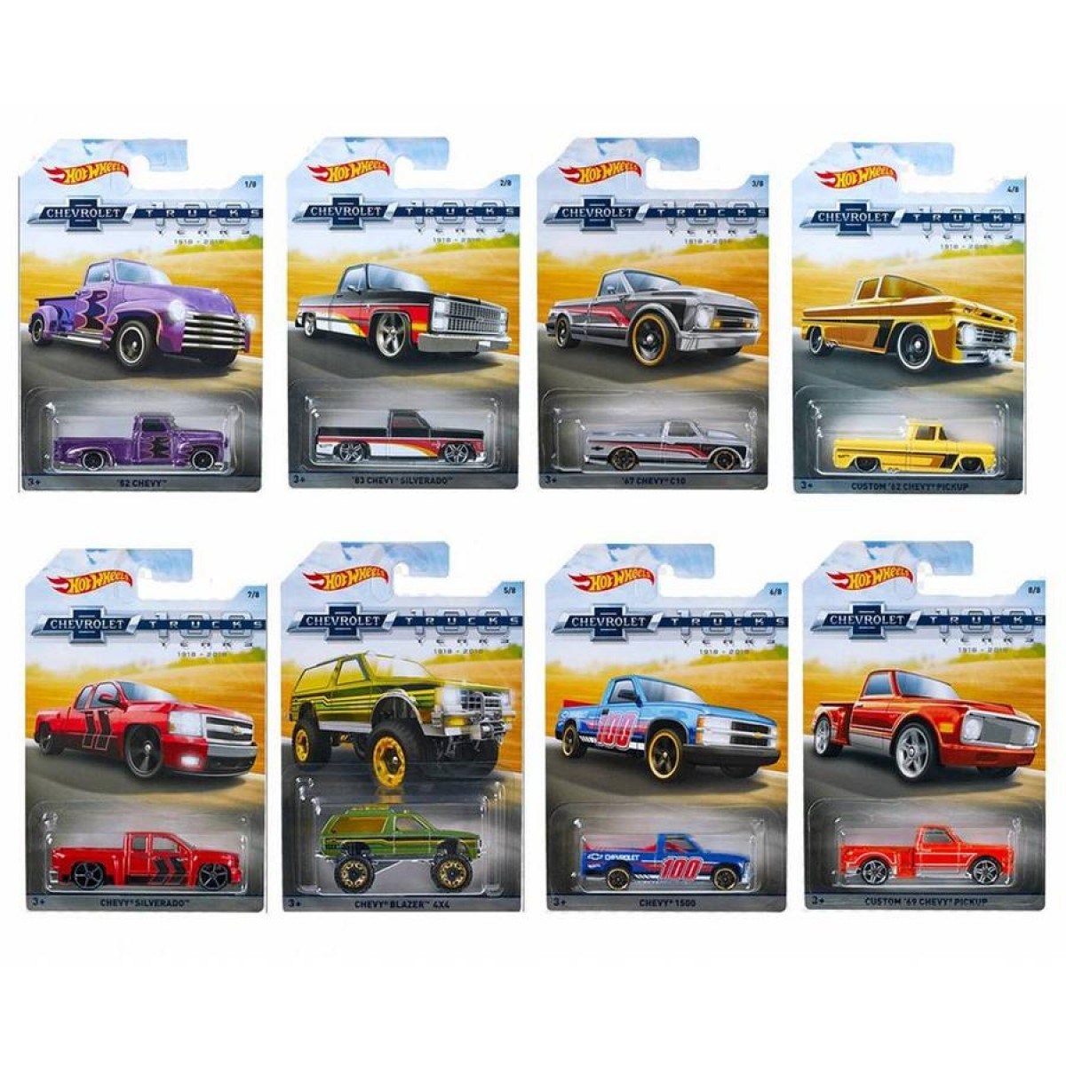 Hot Wheels Chevy Trucks Assorted Toys Casey S Toys