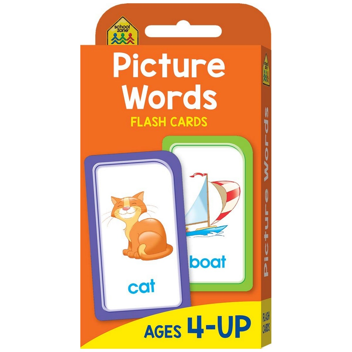 School Zone Flashcards Picture Words | Toys | Casey's Toys