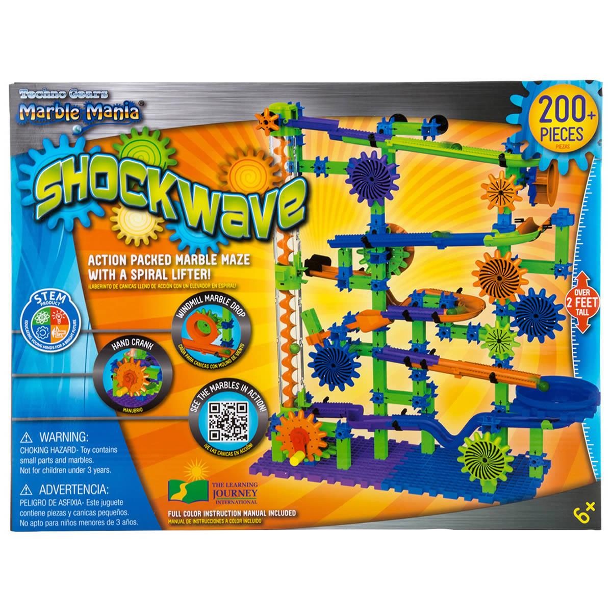 Techno Gears Marble Mania Shockwave Toys Caseys Toys