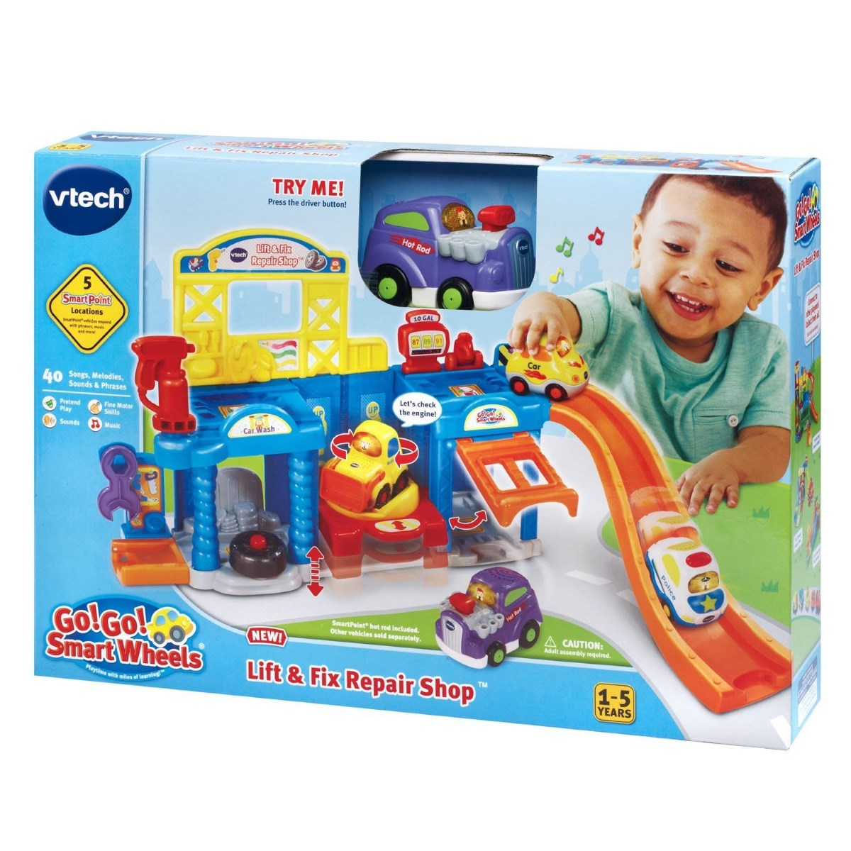 Vtech Toot Toot Wheels Lift Amp Fix Repair Shop Toys