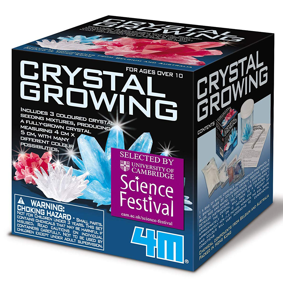 Home Sauna Kits Since 1974 crystal growing kit assorted | toys | casey's toys